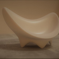 We created a 3D model in Blender, the client was able to see it 'in the round' as part of the approval process.