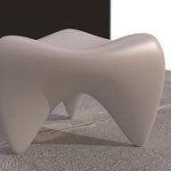 Blender model of a stool