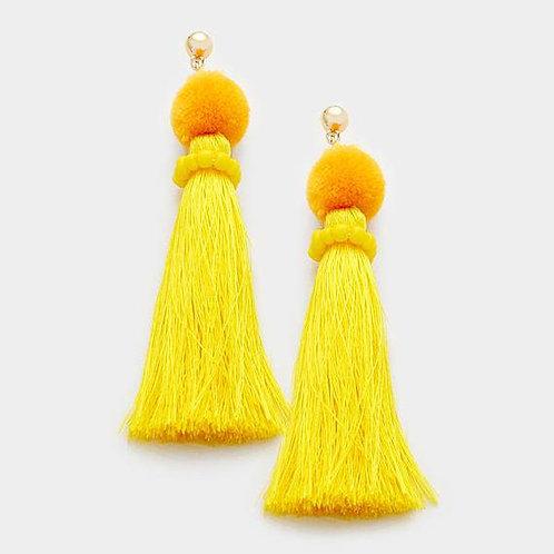 Yellow Pom Pom