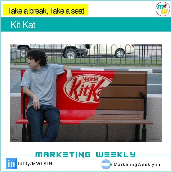 Guerrilla Marketing - Kit Kat