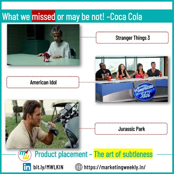 What we missed or may not! - Coca Cola