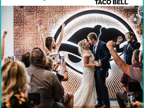 Get married at Taco Bell