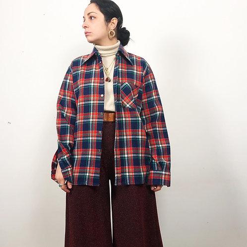 Camicia boscaiolo in flanella