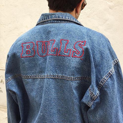 Chicago Bulls Jeans Jacket