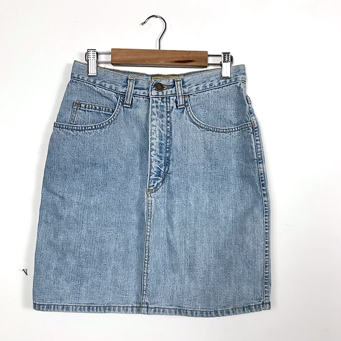 Gonna jeans '80s