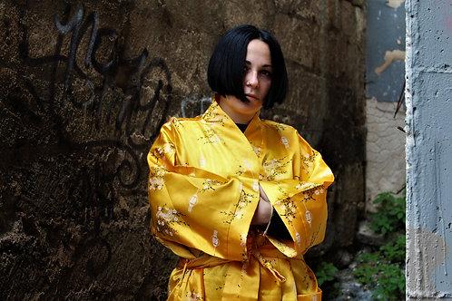 Kimono in pura seta