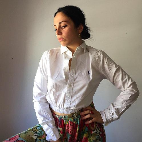 Camicia Crop Ralph Lauren