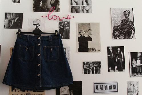 '90s Replay Jeans Miniskirt