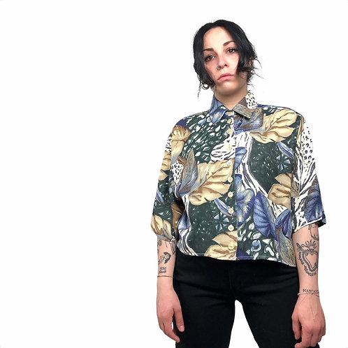Camicia crop '8os