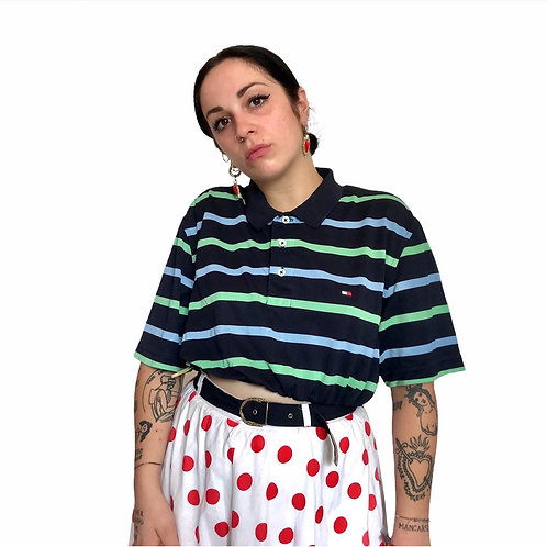 Polo Crop Tommy Hiliger