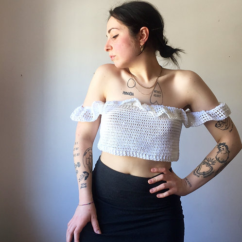 Crop Top handmade
