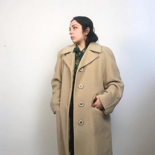 Cappotto cammello '80s
