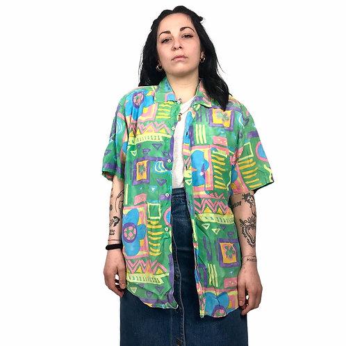 Camicia Multicolor '80s