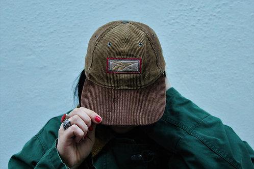 Cappellino di velluto a coste Reebok
