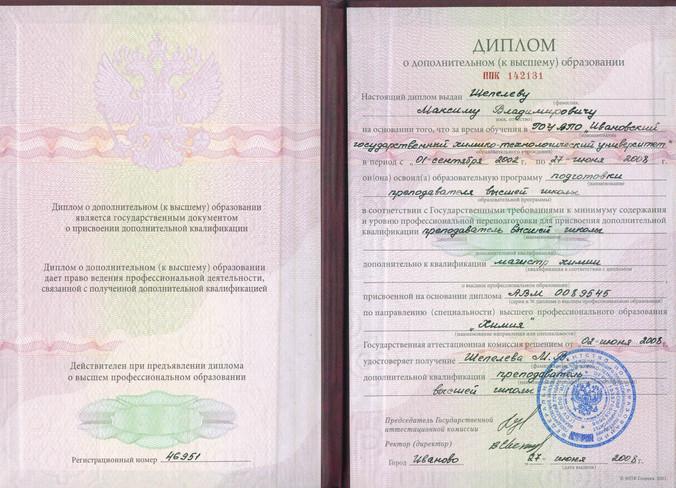 Педагогический диплом