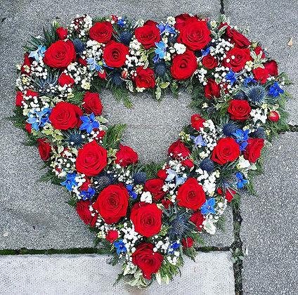Open Raised Heart ROH029
