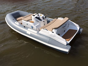 Low profile performance jet tender