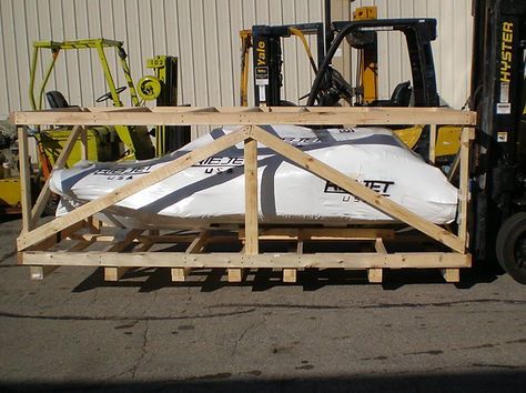 Ribjet Yacht Tenders Shipping