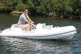 High Performance Jet Yacht Tender