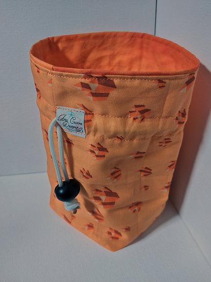 Orange Calcite Medium Bag