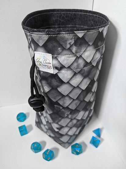 Shadow Dragonscale Medium Bag