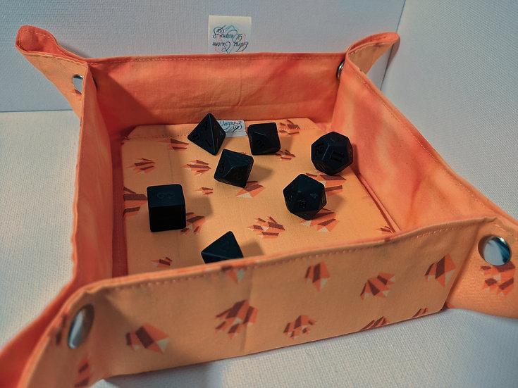 Orange Calcite Deluxe Tray