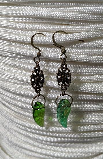 Antique Druid Earrings