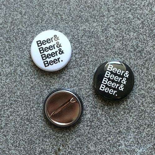 Beer & Beer  & Pin