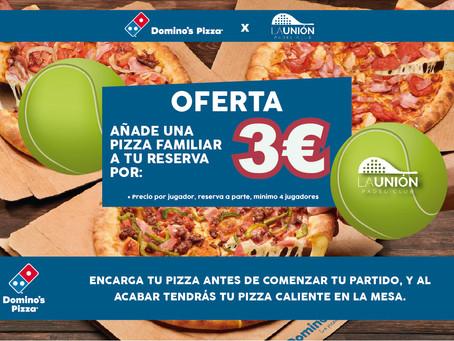Padel y Pizza la mejor combinación para tu reserva | La Unión Padel
