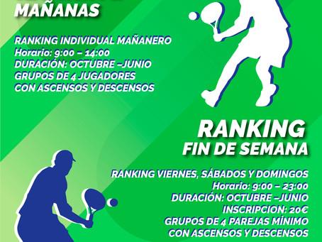 RANKING | La Unión Padel Club.