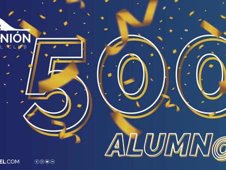 ¡Ya somos 500 alumnos! | La Unión Padel Club