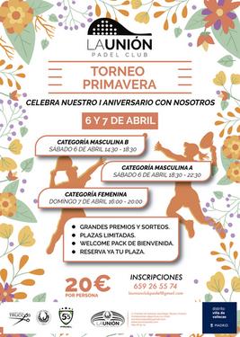 TORNEO PRIMAVERA 2019