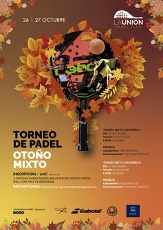 TORNEO MIXTO OTOÑO 2019