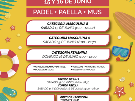 Torneo Summer La Unión padel club.