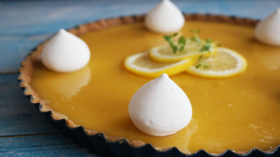 Lemon Meringe Tart