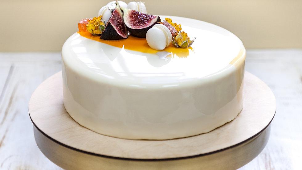 Coconut Passionfruit Cake
