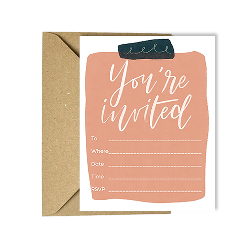 Party Invitation - fillable