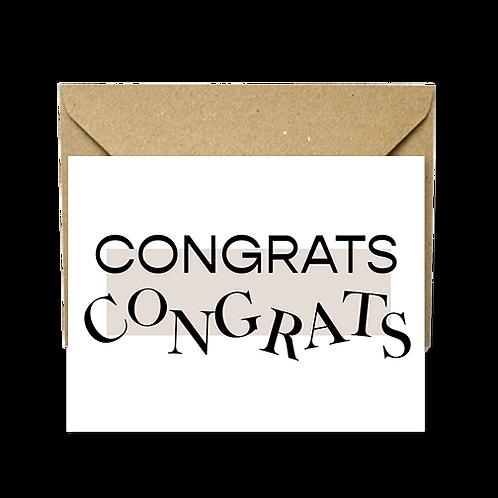 Congrats congrats