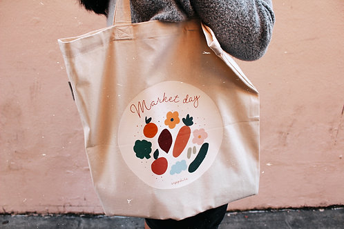 Market Day Totebag