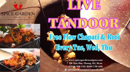 Spice Garden Saigon Live Tandoor Promo
