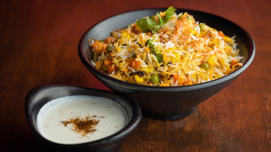 Vegetarian Biryani with Raita.jpg