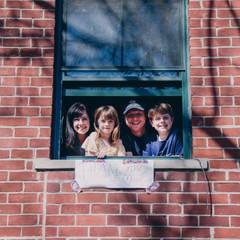 Through the Window Portrait