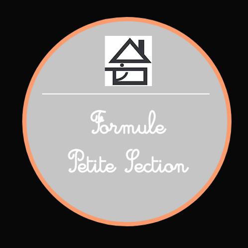 Formule Petite Section