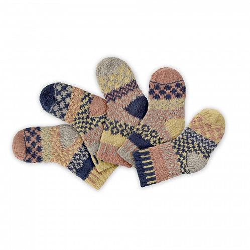 """Baby Socks: """"Pearl"""" (set of 5)"""