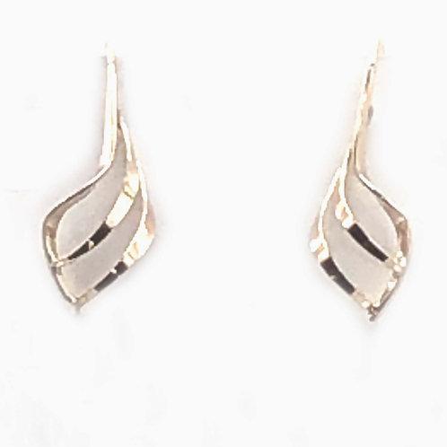 Earrings:  Small Gold Filled Ear Wire                      JR-496