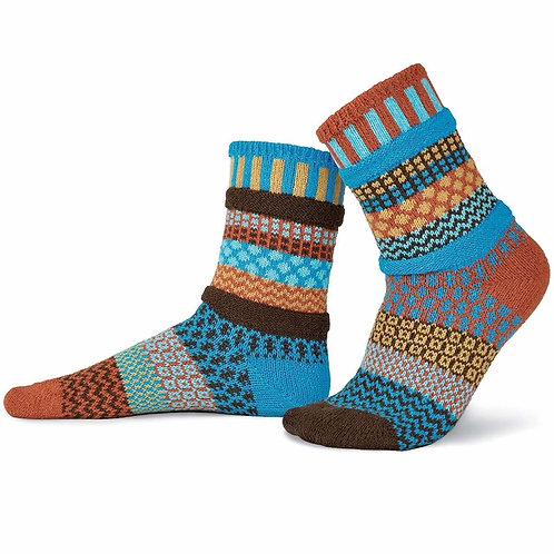 "Crew Socks: ""Amber Sky"""