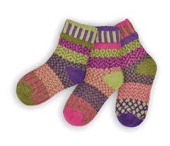 "Kids Socks: ""Grasshopper"" (set of 3)"