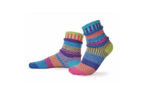 """Crew Socks: """"Bluebell"""""""