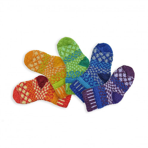 "Baby Socks: ""Prism"" (set of 5)"