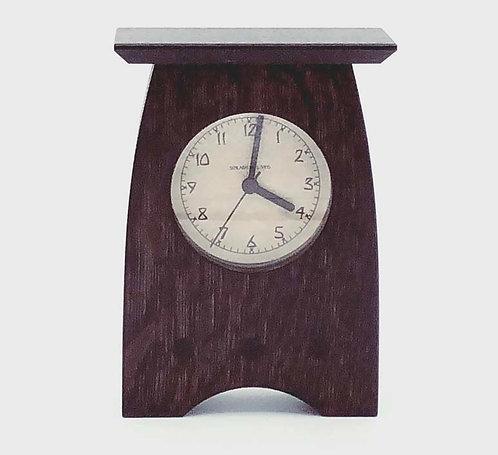"Mantel Clock: Slate, 7""h x 4.75""w x 2.25""d  WZ219"
